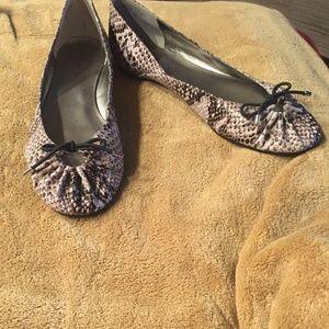 Bandolino Leather Snakeskin Flat (11)
